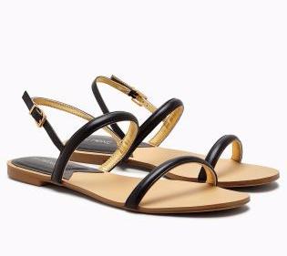 blk sandals